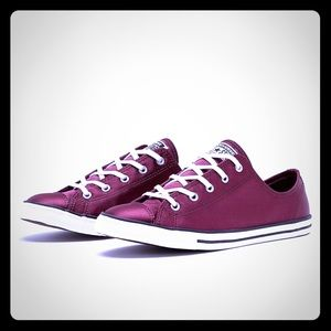 """NWT. Chuck Taylor """"dainty"""" Sneakers."""